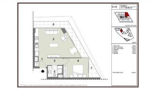 Apartments Close to Transportation Points in Bahçelievler Istanbul, Property Plans-3