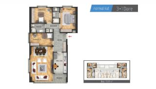 Centrally Located Properties Close to Metro in Istanbul, Property Plans-2