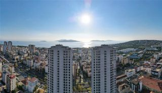 Sea and Island View Flats Close to All Amenities in Istanbul, Istanbul / Kartal