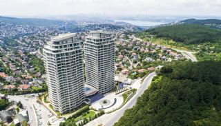 Bosphorus View Flats in a Luxurious Project in İstanbul, Istanbul / Beykoz - video