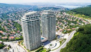 Bosphorus View Flats in a Luxurious Project in İstanbul, Istanbul / Beykoz