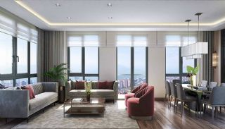 Appartements Vue Sur Mer En Complexe Familial à Maltepe, Photo Interieur-1