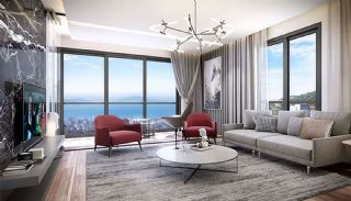 Appartements Vue Sur Mer En Complexe Familial à Maltepe, Photo Interieur-4