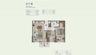 Appartementen in een gezinsvriendelijk complex in Maltepe, Vloer Plannen-1