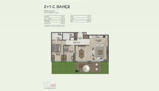 Appartementen in een gezinsvriendelijk complex in Maltepe, Vloer Plannen-2