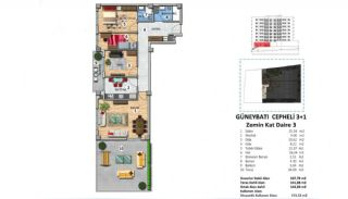 Investment Property with Rich Complex Features in Istanbul, Property Plans-1