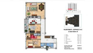 Investment Property with Rich Complex Features in Istanbul, Property Plans-2