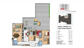 Investment Property with Rich Complex Features in Istanbul, Property Plans-4