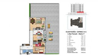 Investment Property with Rich Complex Features in Istanbul, Property Plans-5