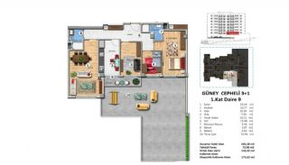 Investment Property with Rich Complex Features in Istanbul, Property Plans-7
