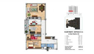 Investment Property with Rich Complex Features in Istanbul, Property Plans-10