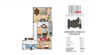 Investment Property with Rich Complex Features in Istanbul, Property Plans-13