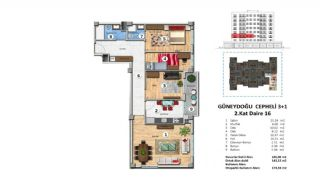 Investment Property with Rich Complex Features in Istanbul, Property Plans-14