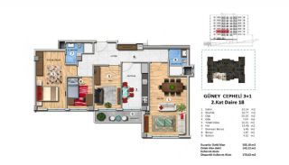 Investment Property with Rich Complex Features in Istanbul, Property Plans-16
