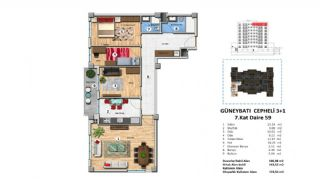 Investment Property with Rich Complex Features in Istanbul, Property Plans-19