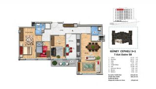 Investment Property with Rich Complex Features in Istanbul, Property Plans-20