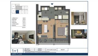 Ümraniye'de Yüksek Tavanlı ve Modern Mimarili Daireler, Kat Planları-2