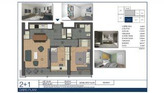 Ümraniye'de Yüksek Tavanlı ve Modern Mimarili Daireler, Kat Planları-4