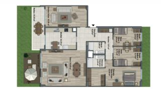Luxury Apartments with Investment Opportunity in İstanbul, Property Plans-2