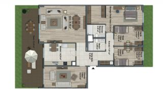 Luxury Apartments with Investment Opportunity in İstanbul, Property Plans-3