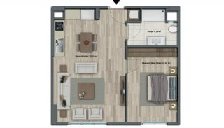 Luxury Apartments with Investment Opportunity in İstanbul, Property Plans-7