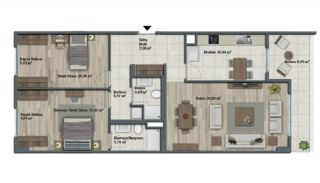 Luxury Apartments with Investment Opportunity in İstanbul, Property Plans-15
