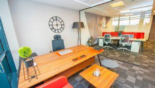 Schlüsselfertige Büros, umgeben von allen Annehmlichkeiten in İstanbul, Foto's Innenbereich-3