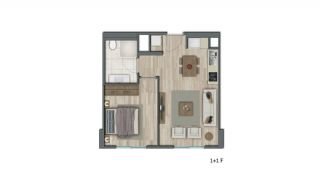 Low-Rise Apartments with Rich Complex Features in İstanbul, Property Plans-2