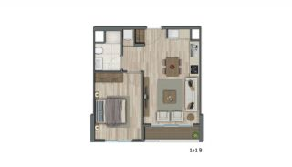 Low-Rise Apartments with Rich Complex Features in İstanbul, Property Plans-3
