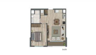 Квартиры в Стамбуле в Малоэтажном Благоустроенном Комплексе, Планировка -3