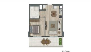 Low-Rise Apartments with Rich Complex Features in İstanbul, Property Plans-4