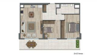 Appartements En Complexe Avec Équipements à Istanbul, Projet Immobiliers-11