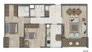 Квартиры в Стамбуле в Малоэтажном Благоустроенном Комплексе, Планировка -13