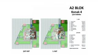 Modern Villas Surrounded by Nature in Istanbul, Property Plans-9