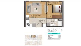 شقق حديثة بمميزات مجمع متعددة في بيليك دوزو اسطنبول, مخططات العقار-1
