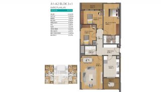 Modern Flats with Rich Complex Features in Beylikduzu Istanbul, Property Plans-3