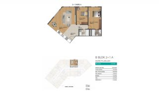 Modern Flats with Rich Complex Features in Beylikduzu Istanbul, Property Plans-5