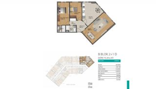Modern Flats with Rich Complex Features in Beylikduzu Istanbul, Property Plans-7