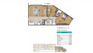 Modern Flats with Rich Complex Features in Beylikduzu Istanbul, Property Plans-10