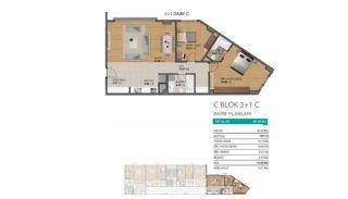 شقق حديثة بمميزات مجمع متعددة في بيليك دوزو اسطنبول, مخططات العقار-10