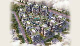 Sea and City View Flats in a Luxurious Complex in Kocaeli, Kocaeli / Center