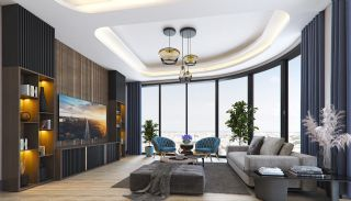 Sea and City View Flats in a Luxurious Complex in Kocaeli, Interior Photos-1
