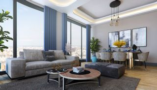 Sea and City View Flats in a Luxurious Complex in Kocaeli, Interior Photos-2