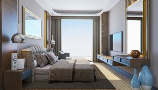 Sea and City View Flats in a Luxurious Complex in Kocaeli, Interior Photos-4