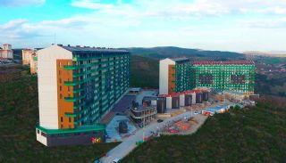 Kocaeli Wohnungen mit Meerblick in einem Komplex mit Pools, Foto's Bau-1