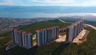 Kocaeli Wohnungen mit Meerblick in einem Komplex mit Pools, Foto's Bau-2