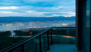Kocaeli Wohnungen mit Meerblick in einem Komplex mit Pools, Foto's Bau-3