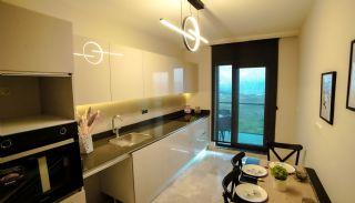 Kocaeli Wohnungen mit Meerblick in einem Komplex mit Pools, Foto's Innenbereich-4