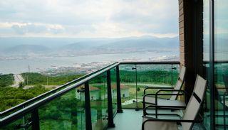 Kocaeli Wohnungen mit Meerblick in einem Komplex mit Pools, Foto's Innenbereich-10