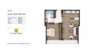 Kocaeli Wohnungen mit Meerblick in einem Komplex mit Pools, Immobilienplaene-1